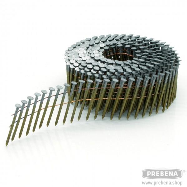 CNF21/32BKRI Coilnägel blank Ringschaft 32mm Länge