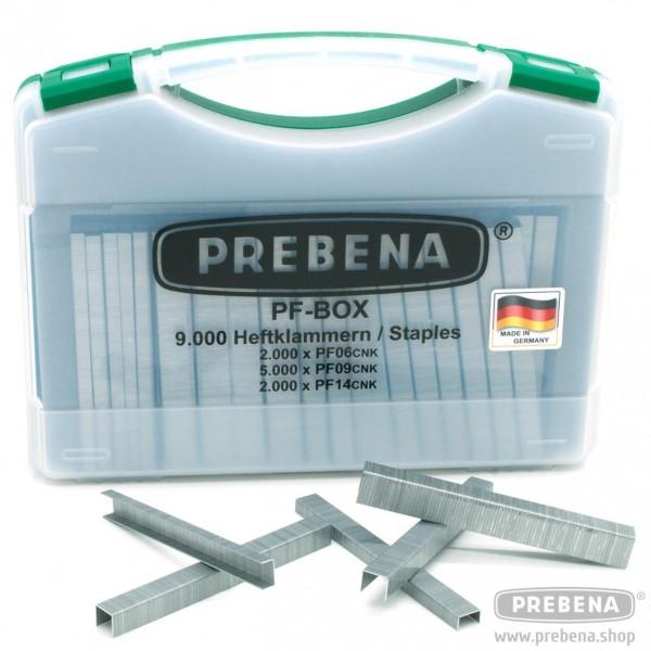 PREBENA PF-BOX Heftklammern verzinkt