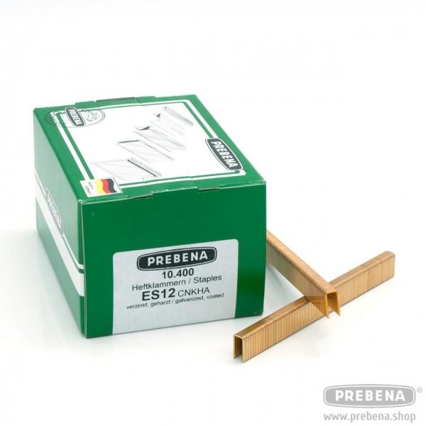 ES12CNKHA Heftklammern verzinkt geharzt 12mm Länge
