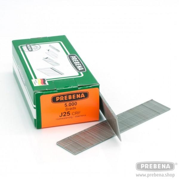 J25CRF Brads (Stauchkopfnägel) rostfrei 25mm Länge