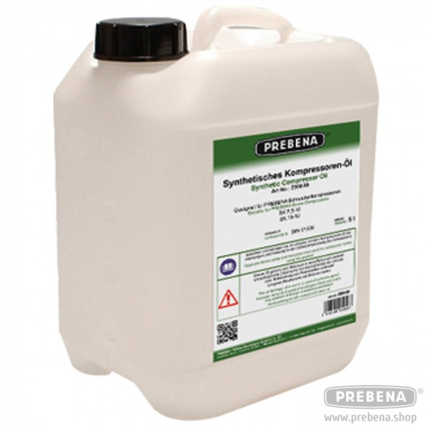 Synthetik-Öl 5 Liter für Schraubenkompressoren