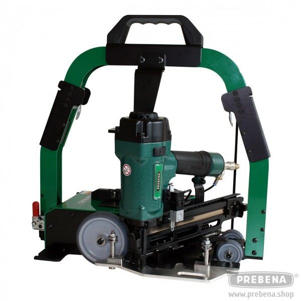 PREBENA Slider 4C-Z50 mit Druckluftnagler 16-50mm Länge