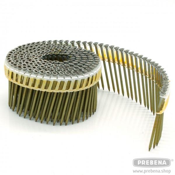 CSS28/65RFRI Coil-Nagelschrauben rostfrei Ringschaft 65mm Länge