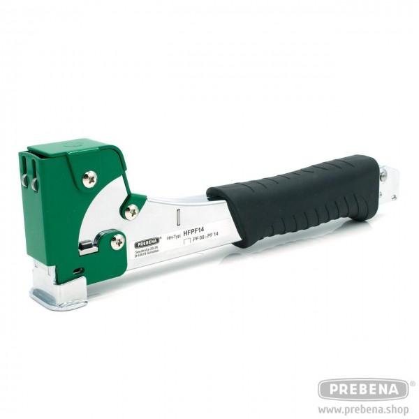 PREBENA Hefthammer HFPF14 Heftklammern 6-14mm