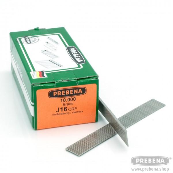J16CRF Brads (Stauchkopfnägel) rostfrei 16mm Länge