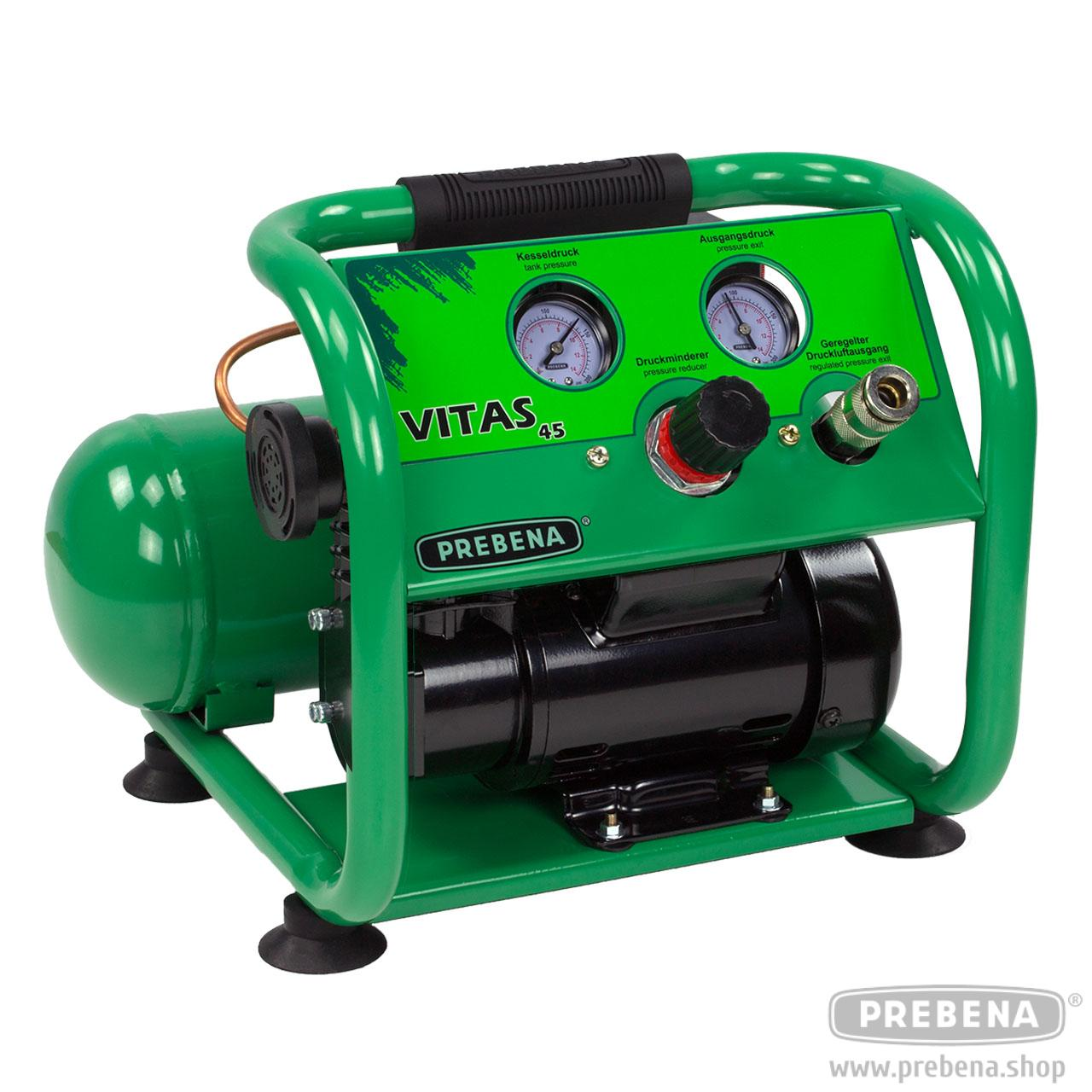 Vitas 45 Compressor Mobile Compressors Homen Pressure Gauge Kompressor Homenhobby Prebena The Official Online Shop