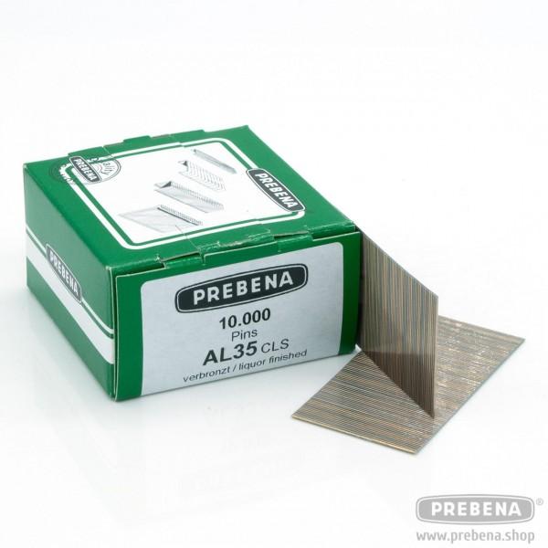 AL35CLS Pins (Stifte ohne Kopf) verbronzt 35mm Länge
