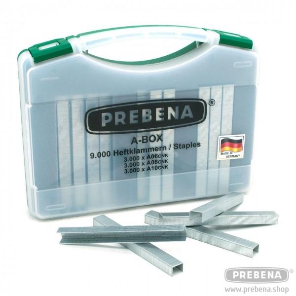 PREBENA A-BOX Heftklammern Type A