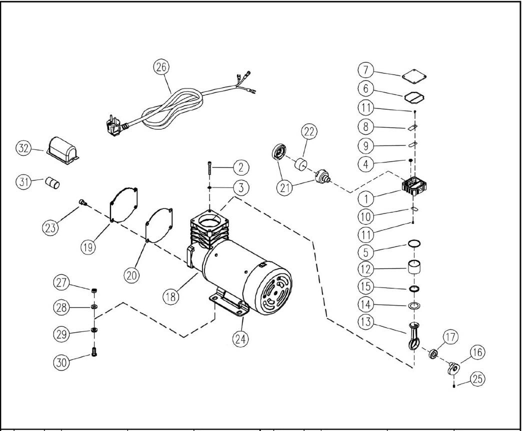 vitas 45 kompressoren ersatzteile f r den profi prebena offizieller onlineshop. Black Bedroom Furniture Sets. Home Design Ideas