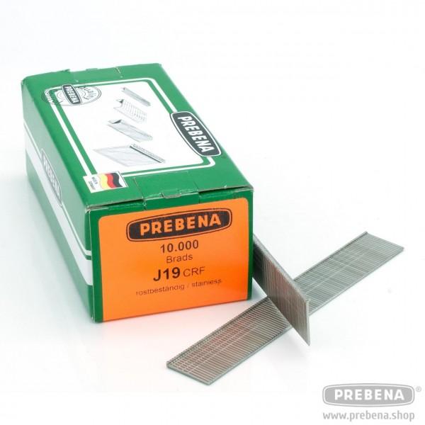 J19CRF Brads (Stauchkopfnägel) rostfrei 19mm Länge
