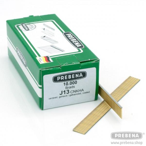J13CNKHA Brads (Stauchkopfnägel) verzinkt geharzt 13mm Länge